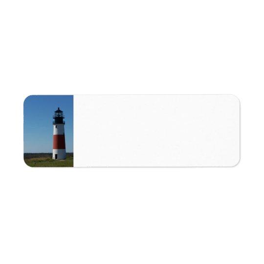 Lighthouse Return Label