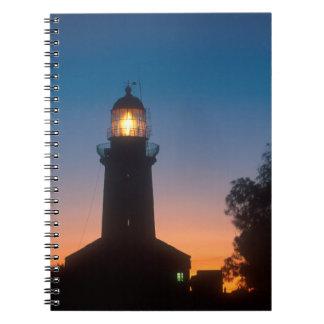 Lighthouse, Robben Island, Cape Town 2 Notebook