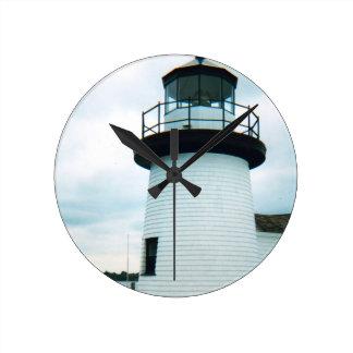 Lighthouse Round Clock