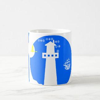 Lighthouse, ship coffee mug