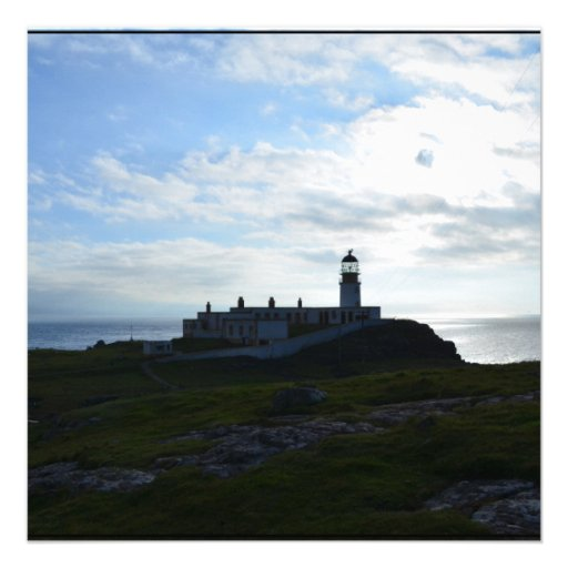Lighthouse Silhouette Invite
