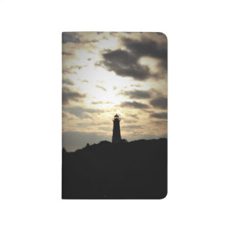 Lighthouse Silhouette Journal