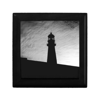 Lighthouse Small Square Gift Box