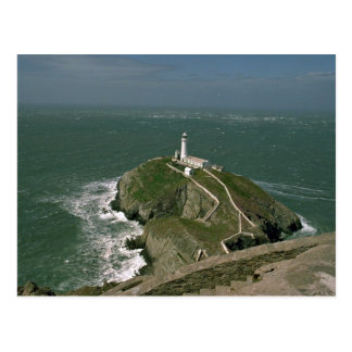 Lighthouse, South Stack, Anglessy, northern Wales Postcard