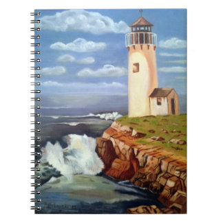 Lighthouse Spiral Note Books