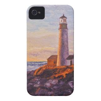 Lighthouse Sunrise iPhone 5 & iPhone 4 Cover