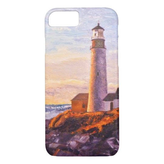 Lighthouse Sunrise iPhone 8/7 Case