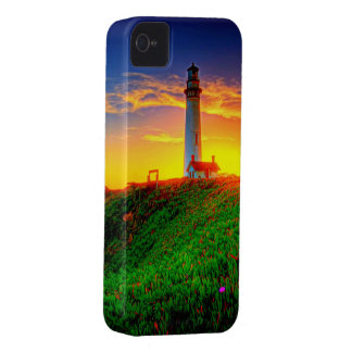Lighthouse Sunset High Definition Photography iPhone 4 Case