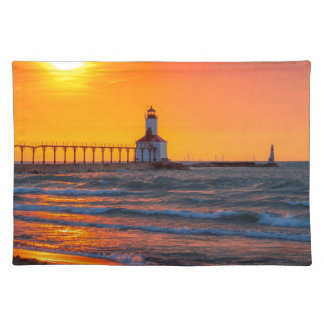 Lighthouse Sunset Place Mat
