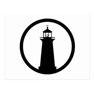 lighthouse Symbol Postcard