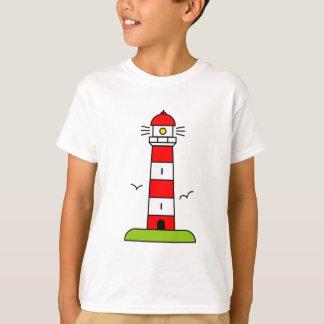 Lighthouse t shirt for kids   Nautical beach theme