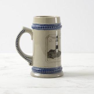 Lighthouse Tankard 18 Oz Beer Stein