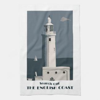 Lighthouse teatowel tea towel
