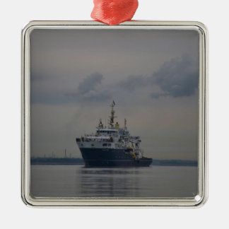 Lighthouse Vessel Galatea Christmas Ornament