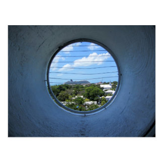 Lighthouse view of Mallory Square Postcard
