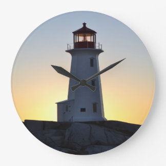 Lighthouse Wall  clock Peggy's Cove Nova Scotia