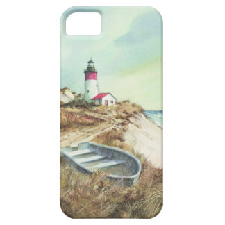lighthouse watercolor iPhone 5 cases