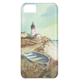 lighthouse watercolor iPhone 5C covers
