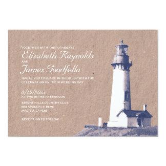 Lighthouse Wedding Invitations