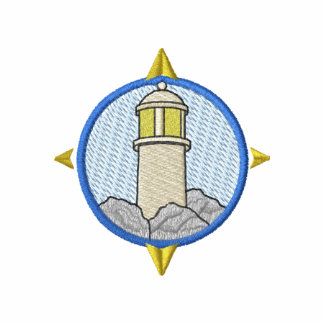 Lighthouse with compass