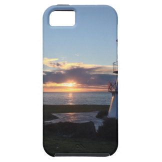 Lighthouse With Fall Sunset Lost Coast California iPhone 5 Cover