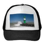 Lighthouses in Warnemuende Hat
