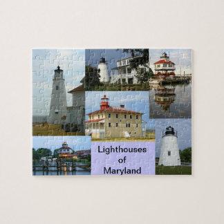Lighthouses of Maryland Jigsaw Puzzle