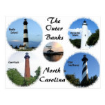 Lighthouses of the Outer Banks Post Card