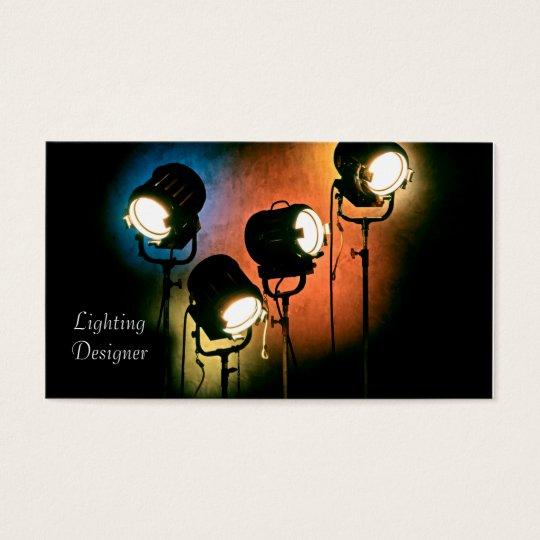 Lighting Designer business cards