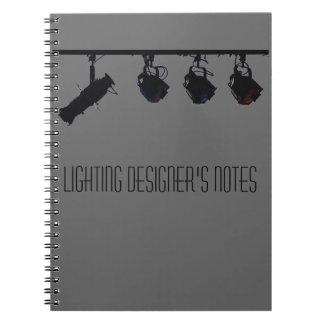 Lighting Designer s Notes Note Books