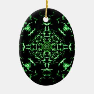 Lighting mandala christmas ornament
