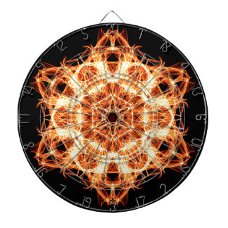 Lighting mandala dartboard
