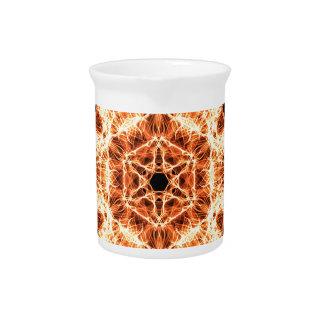 Lighting mandala pitcher