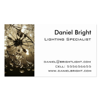 Lighting Specialist Business card