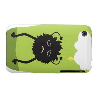 Lighting Struck Monster Cover iPhone 3 Case-Mate Cases