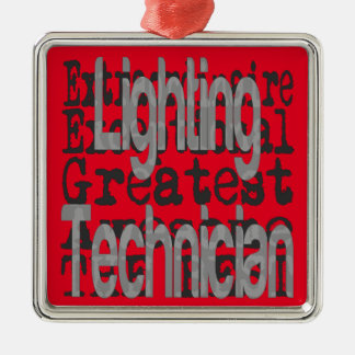 Lighting Technician Extraordinaire Christmas Ornament