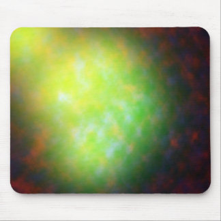 Lighting The Green Mouse Pad