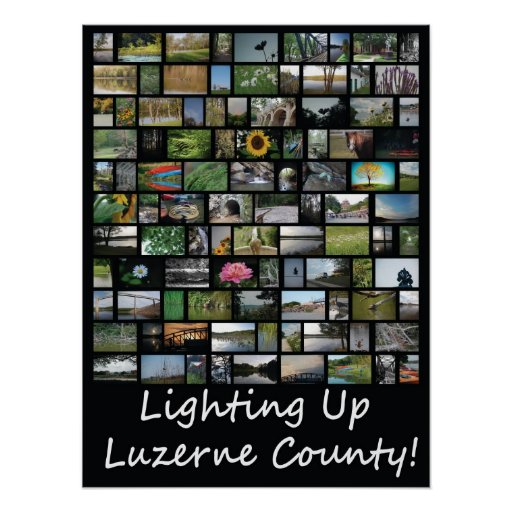 Lighting Up Luzerne County Print