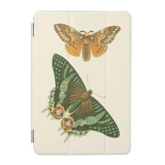 Lightly Bordered Butterfly Painting iPad Mini Cover