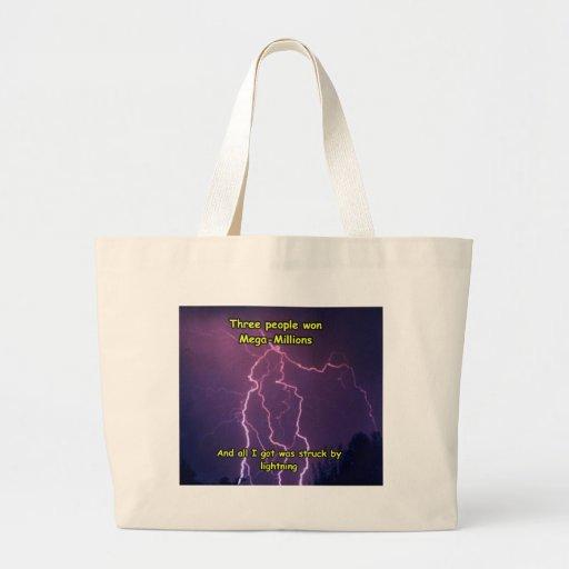 Lightning 3 tote bag