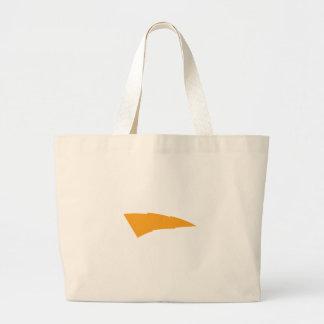 Lightning Bolt Applique Jumbo Tote Bag