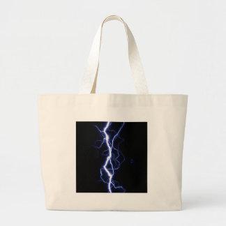 Lightning Bolt Tote Bags