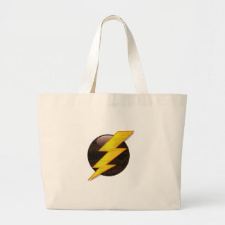 Lightning Bolt Canvas Bags