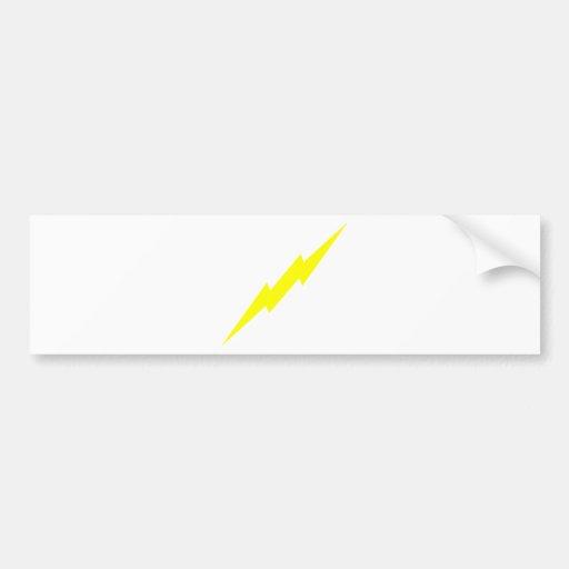 Lightning Bolt Bumper Stickers