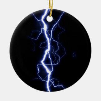 Lightning Bolt Christmas Ornament