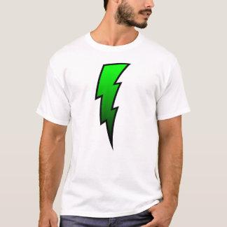 Lightning Bolt - Green T-Shirt