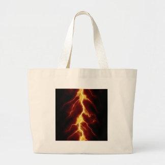 Lightning Bolt Jumbo Tote Bag