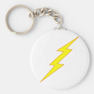Lightning Bolt Key Ring