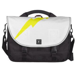 Lightning Bolt Laptop Messenger Bag