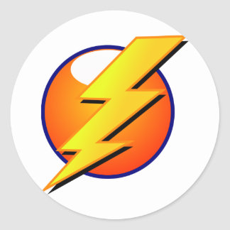 Lightning Bolt Large Sticker